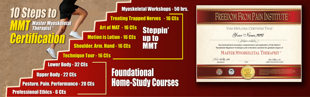 Check out how to work your way toward the MMT Certification!!!