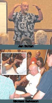 Jan Sultan and Michael Salveson