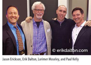 Jason Erickson, Erik Dalton, Lorimer Moseley, and Paul Kelly