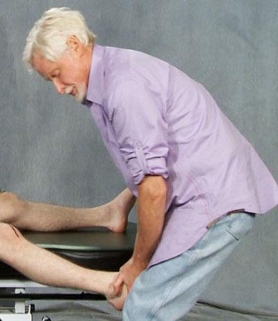 Erik Dalton Working with leg adduction off the massage table