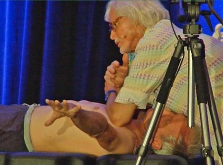 Bilateral elbow pec minor release