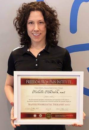 Michelle Mokracek - MMT, Teaching Assistant, and Workshop Trainer