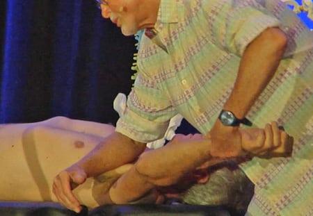 Unlateral elbow pec minor release
