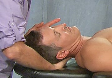 Cervical sidebending to relieve nerve root compression