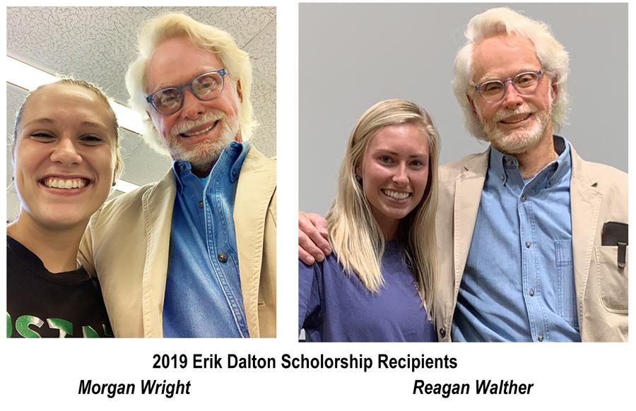 2019 Erik Dalton Scholarship Recipients