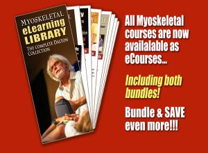 All Myoskeletal courses are now available as eCourses