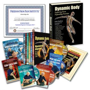 Lower Body Home Study Course DVDs, Certificate and book