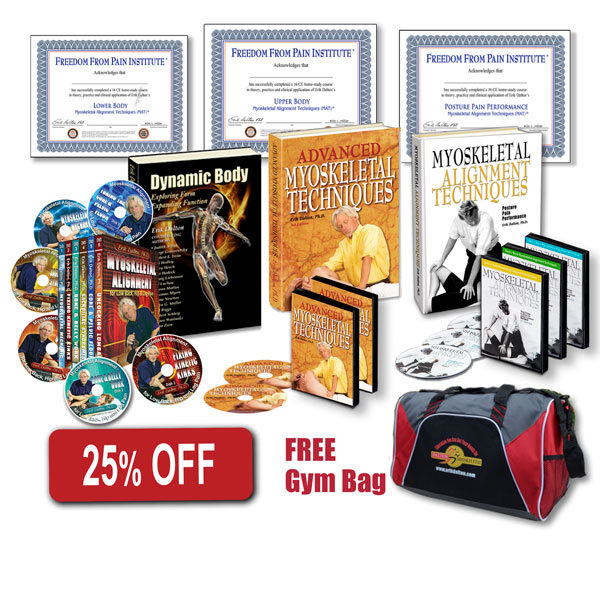 25% off Foundational Bundle Product DVD's, books, gym bag and Certificates