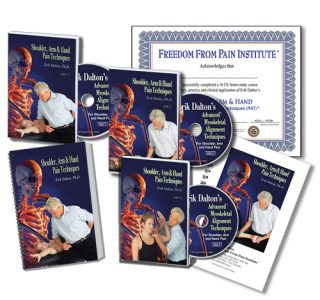 Shoulder, Arm & Hand Course Home Study materials. Includes DVD's, Manual and Certificate