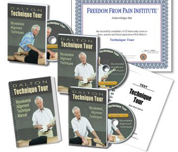 Technique Tour Home Study coures. 3DVD's, manual, test, certificate